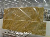 Imperial Gold countertop polished finished Chinese manufacturer