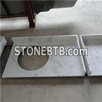 White Marble Company For Chinese Guangxi White ,Bianco Crown Bathroom Vanity Tops
