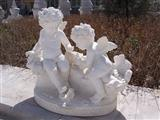white marble statuary