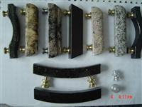 granite and Door knobs/handles