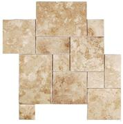 Walnut Travertine Pattern Set