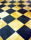 Honed Slate and Colored Marble Squares