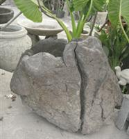 Lava stone natural pot