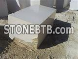 Mocha Cream Limestone Block
