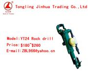YT24 hand held air leg rock drill