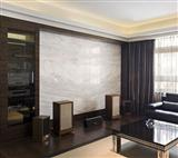 Ariston White Marble Slab background decoration