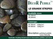 Le Grande Stripe Pebble Stone