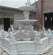 Marble Fountain Sculpture