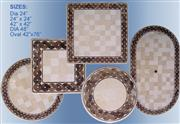 Light Marble, Marble Mosaic / Ceramic Mosaic