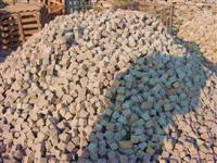 Pile of Brown Cobbles