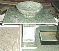 Green Granite Vanity Top