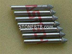 Diamond CNC Router Tools for 3D Stone Carving