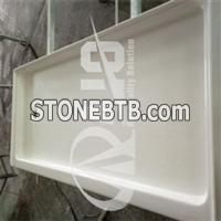 China Hot Selling Cultured Marble Shower Pan 60''x30''