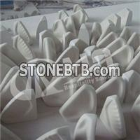 Low Price Cultured Marble Corner Mount Soap Dish SD-3