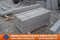 Large fine picked granite palisade