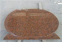 Maple red tombstone,headstone