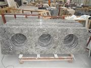 King Flower Marble Vanity Tops