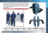 DOUBLE HAND CARRY CLAMPS