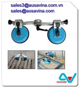 GLASS-GLUING CLAMP