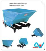 STEEL COLLAPSIBLE DUMPSTER