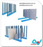 MARBLE GRANITE STONE SLAB STEEL RACK STORAGE