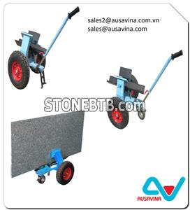 MARBLE GRANITE STONE SLAB SELF LOCKING DOLLIES TROLLEY