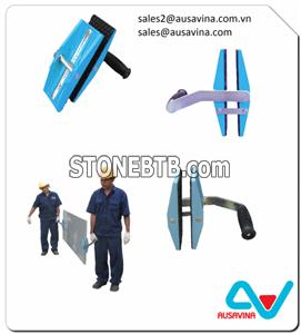 MARBLE GRANITE STONE SLAB DOUBLE HAND CARRY CLAMPS TOOL
