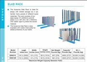 SLAB RACK SRK10