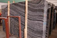 Zebra Black Marble Tile Slab