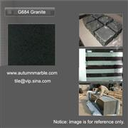 Granite G684  Black Beauty Basalt tile