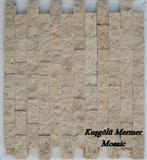 Noce Travertine Split Face Mosaic K27