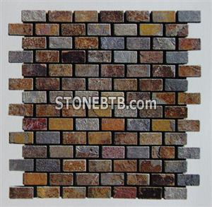 Mosaic/Wall panel/Natural stone KS-M063