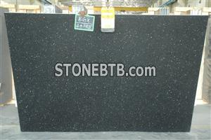 Black Galaxy Granite Slabs & Tiles
