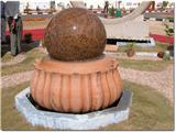 Granite Stone Ball Fountain 03