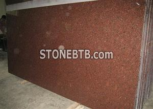Imperial Red Granite Slabs & Tiles