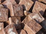 Manga Red Granite Cobble Stones