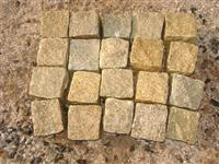 Yellow Granite Cobble Stone