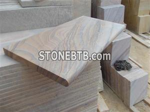 Rainbow Sandstone Pool Coping