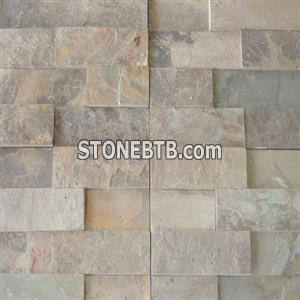 Vijaya Gold Slate Ledge Stone