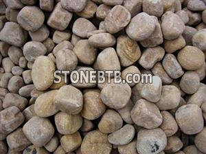 Rainbow Sandstone Pebble Stone