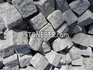 Grey Granite Cobble Stone
