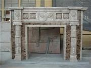 Decorative Carved Fireplace