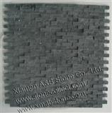 black slate mosaic tiles MT-29