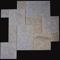 Jerusalem Grey Brushed Chiseled French Pattern