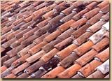 Handmade Clay Roof Tile - Reclaimed Antique Roof Tile