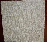 White Travertine Stone Mosaic, Mosaic Tile