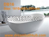 Solid surface bathtubs