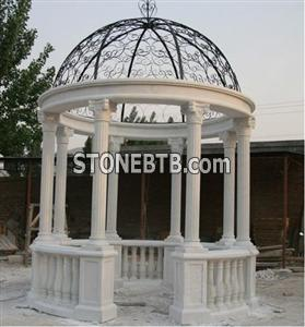 China white marble gazebo