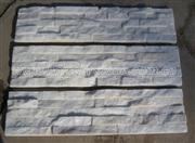 Snow White Marble Culture Stone