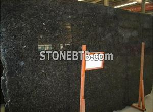 Volga Blue Granite Slab, Tile, Countertop